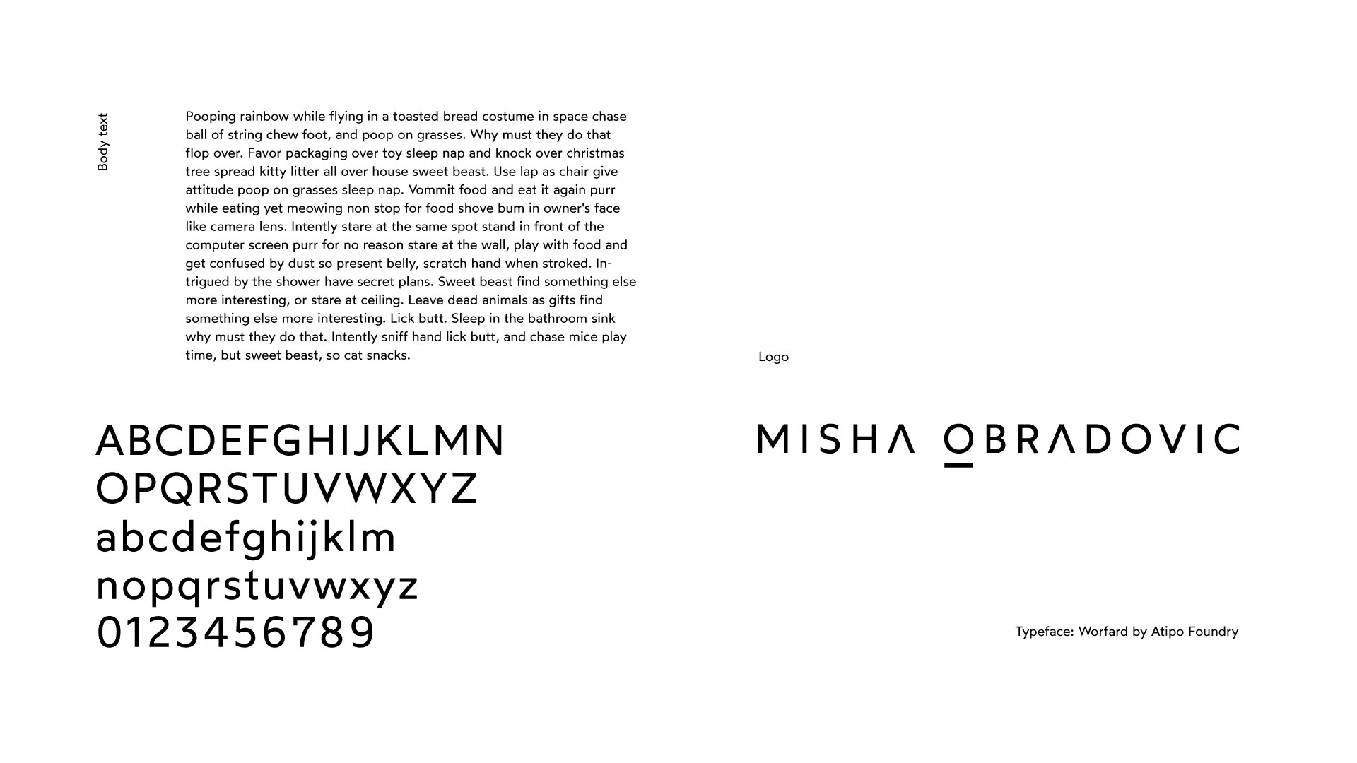misha obradovic photography elle cosmoplitan grazia logo identiity