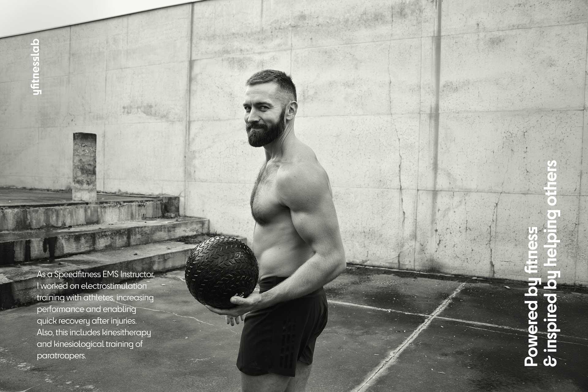 yfitnesslab deyan cvetkovic fitness trainer ems speedfitness instructor general condition studio logo