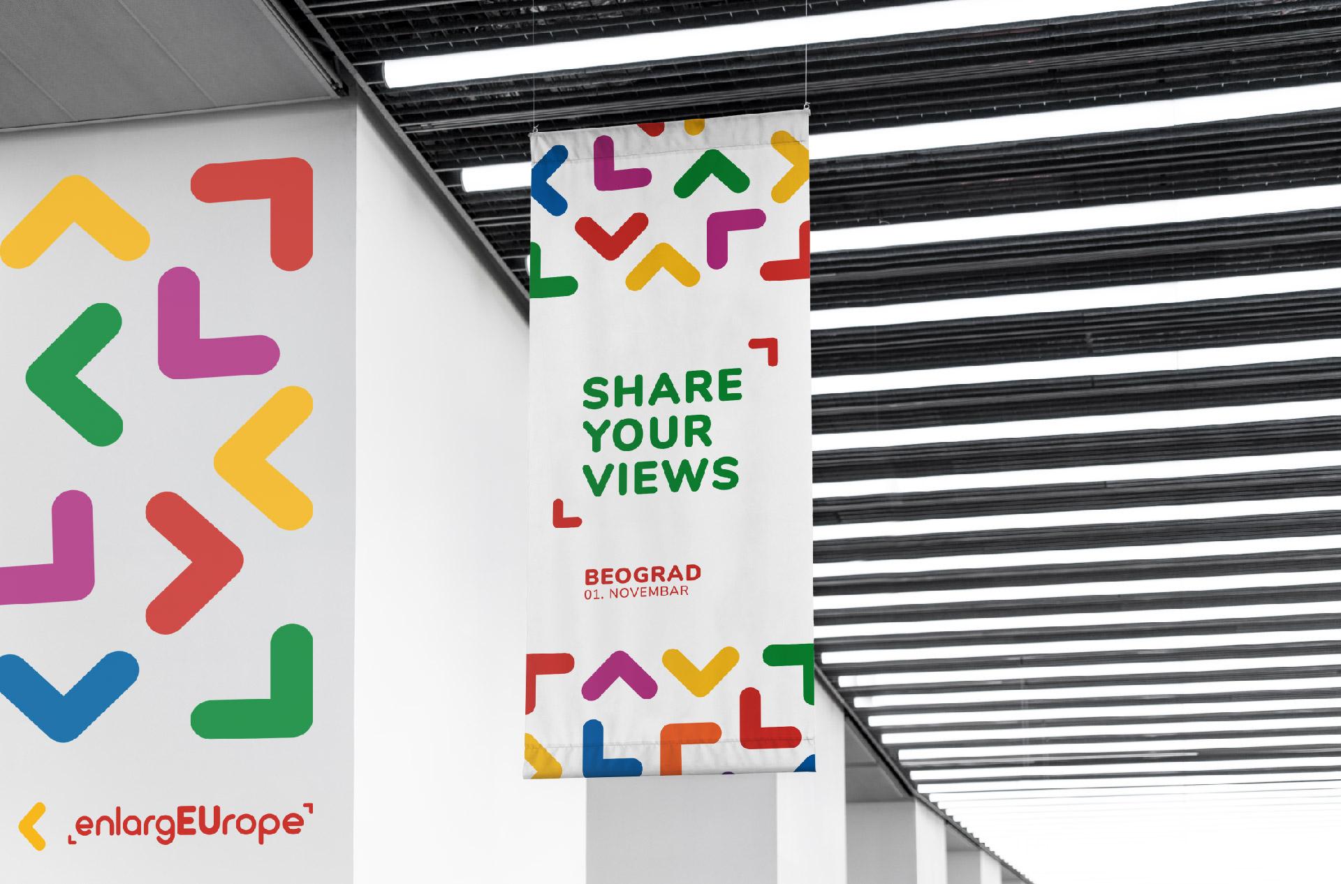 EnlargEUrope visual identity graphic design general condition studio belgrade serbia jovan lakic