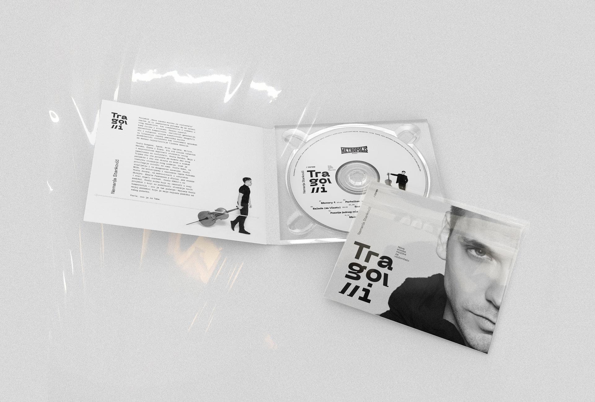 nemanja stankovic tragovi album cd violoncelo muzika beograd metropolis general condition design studio